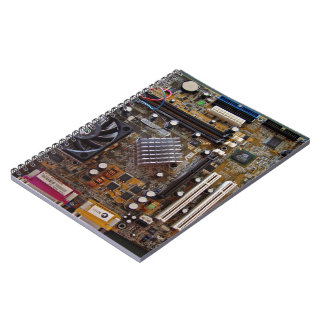 ATX motherboard view from above Note Books
