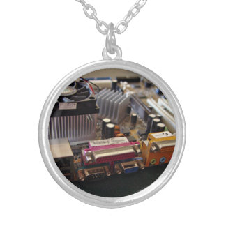 ATX motherboard view from connector edge Custom Jewelry