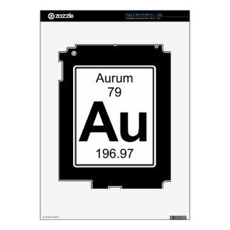 Au - Aurum iPad 2 Calcomanías