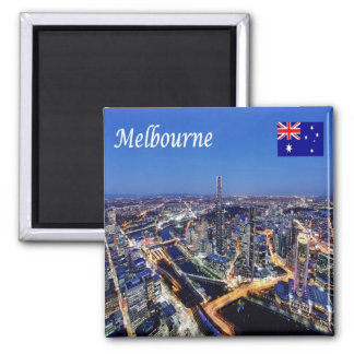 AU - Australia - Melbourne - By Night Magnet