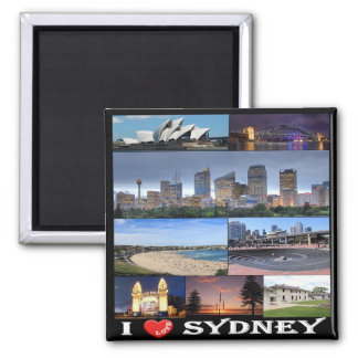 AU - Australia - Sydney - I Love Magnet
