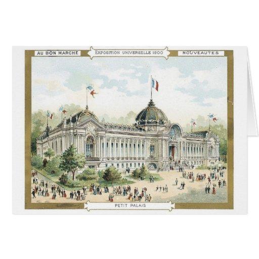 Au Bon Marche Exposition Universeille 1900 Card