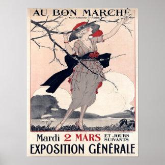 Au Bon Marche Posters