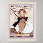Au Bon Marché ~ Vintage Advertising Print
