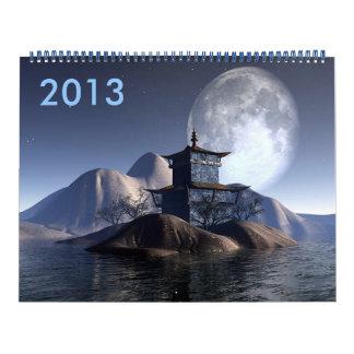 Au Bout de la Nuit 2013 Calendar