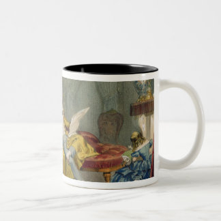 Au coin du feu' Two-Tone coffee mug