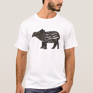 AU- Funny Tapir Cartoon T-Shirt