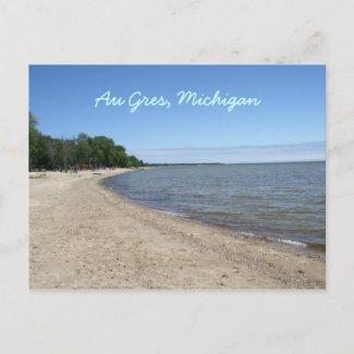 Au Gres, Michigan Post Card postcard