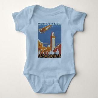 Au Maroc Par Avion Baby Bodysuit