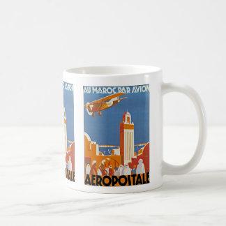 Au Maroc Par Avion Coffee Mug