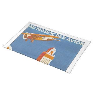 Au Maroc Par Avion Placemat