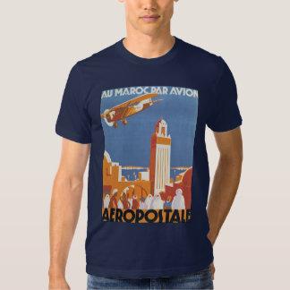 Au Maroc Par Avion T-Shirt