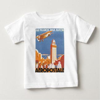 Au Maroc Par Avion Tee Shirts