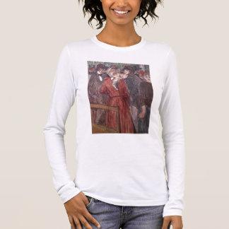 Au Moulin de la Galette, 1891 (w/c and gouache) Long Sleeve T-Shirt