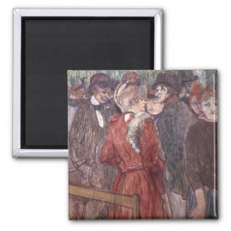 Au Moulin de la Galette, 1891 (w/c and gouache) Magnet