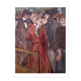 Au Moulin de la Galette, 1891 (w/c and gouache) Postcard
