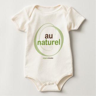"""""""au naturel"""" baby bodysuit"""