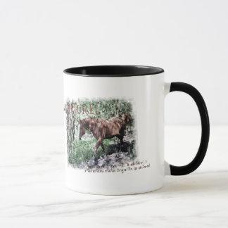 AU NATUREL- horse items Mug