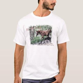 AU NATUREL- horse items T-Shirt