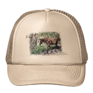 AU NATUREL- horse items Trucker Hat