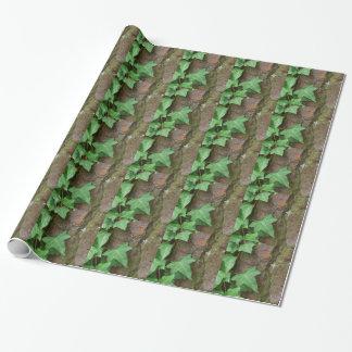 Au Naturel Ivy Tree Designer Drama Wrapping Paper