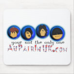 Au Pair In UK Pad Mouse Mats