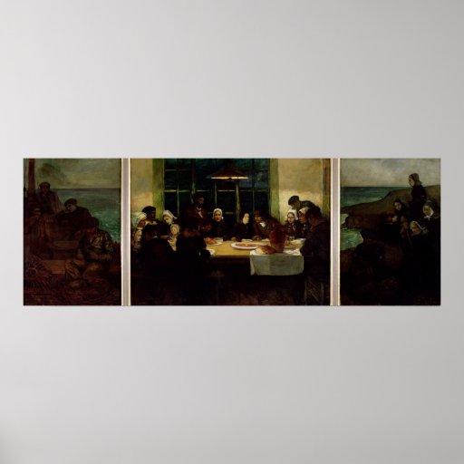 Au Pays de la Mer, 1898 Poster