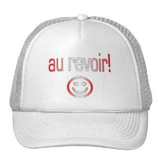 Au Revoir! Canada Flag Colors Mesh Hat