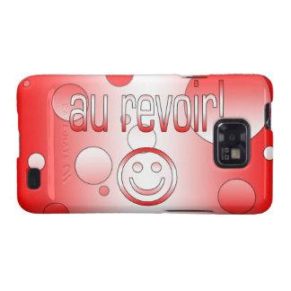 Au Revoir! Canada Flag Colors Pop Art Samsung Galaxy SII Cases