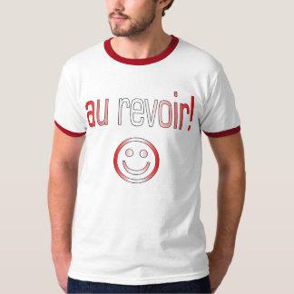 Au Revoir! Canada Flag Colors T Shirt