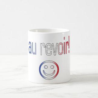 Au Revoir! French Flag Colors Coffee Mug
