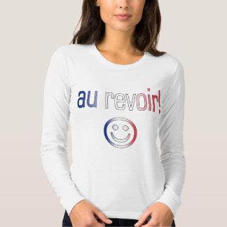 Au Revoir! French Flag Colors Shirt