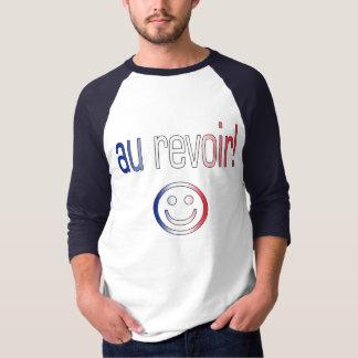 Au Revoir! French Flag Colors T-shirt