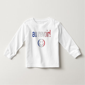 Au Revoir! French Flag Colors Toddler T-shirt