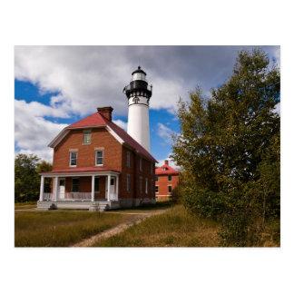 Au Sable Lighthouse Postcard