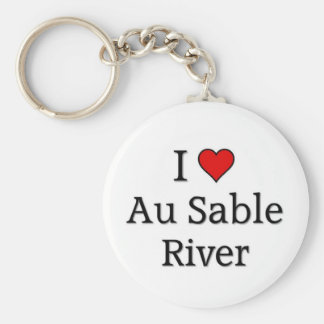 Au Sable River Key Chain