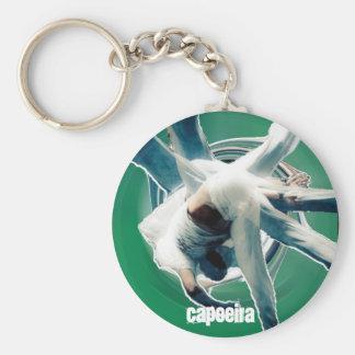 au sem mao green, capoeira keychain