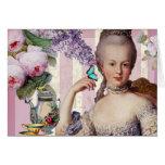 Au Trianon pequeno - día de Thé de madres feliz co Felicitaciones