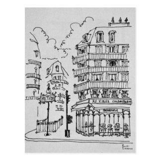 Au Vieux Colombier Boulevard Raspail | France Postcard