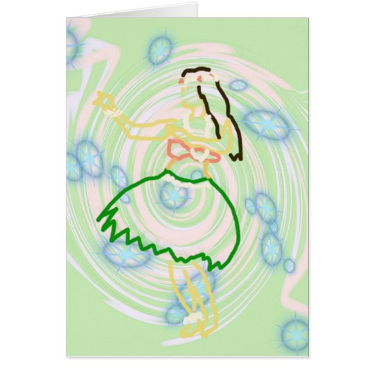 'Auana Card (Hawaiian Notecard Series)