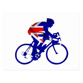 Auatralian Biker Postcard
