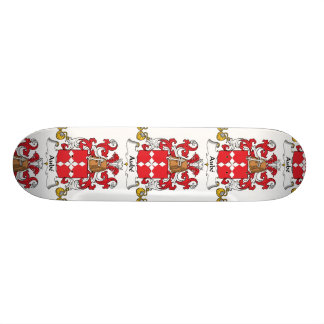 Aube Family Crest Skateboard Deck