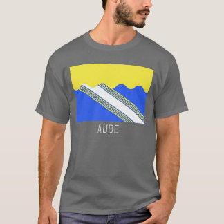 Aube flag with name T-Shirt