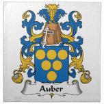 Auber Family Crest Napkins