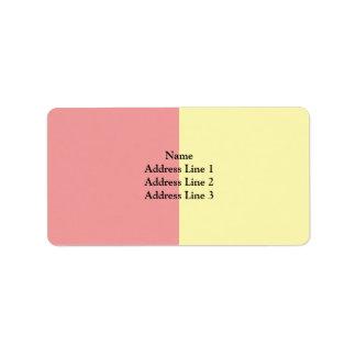 Aubonne, Switzerland Address Label