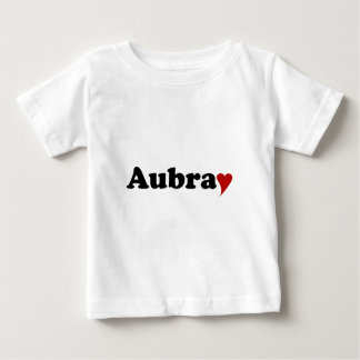 Aubray with Heart Shirt