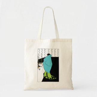 Aubrey Beardsley Art Nouveau Tote Bag