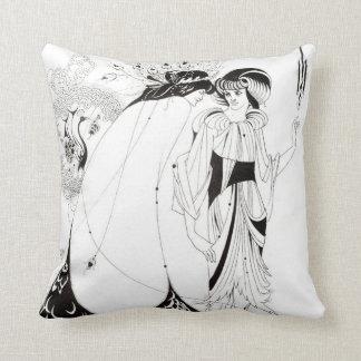 Aubrey Beardsley la almohada de la falda del pavo