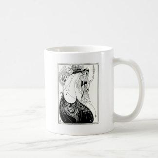 Aubrey Beardsley Peacock Skirt Coffee Mugs
