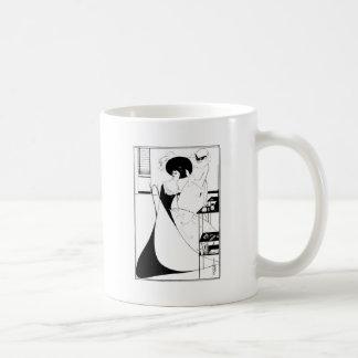 Aubrey Beardsley Salome Illustration Coffee Mug